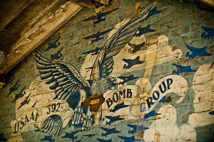 The emblem of 392 Bomber Group