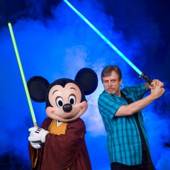 'Star Wars' actor Mark Hamil enjoys Disney World