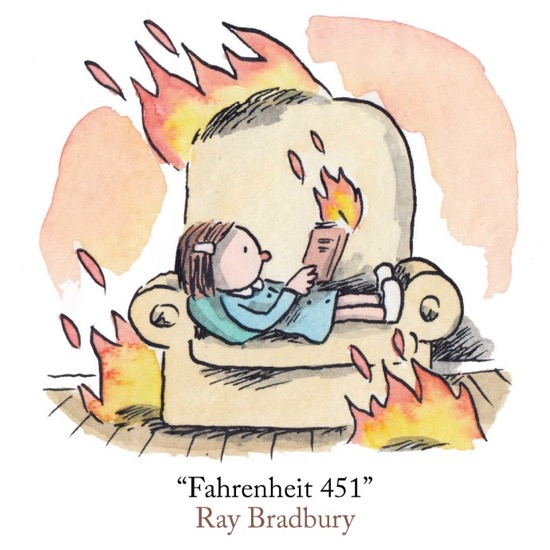 an analysis of the meetings between montag and clarisse in fahrenheit 451 by ray bradbury